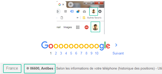 position site internet sur google
